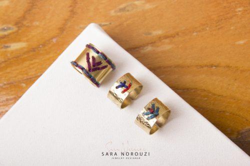 انگشتر زیورالات جواهرات سارا نوروزی